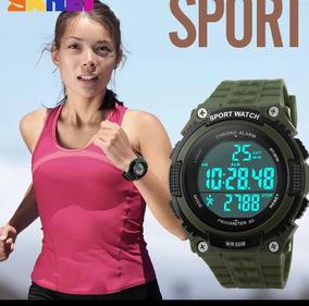 Relógio Unissex Skmei Conta Passos + Relógio Infantil Lasika