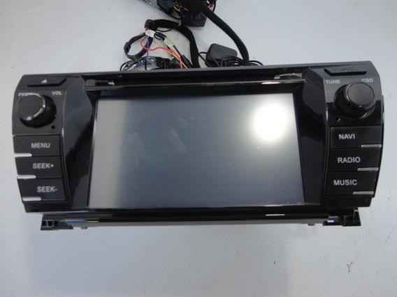 Central Multimidia Corolla Com Camera De Re (cx21/07)