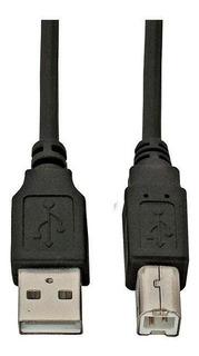 Cable Usb 2.0 Para Impresora 1.80mts Negro