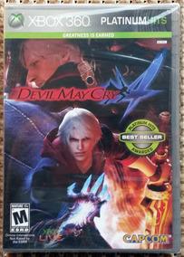 Devil May Cry 4 Xbox 360 Novo Lacrado Mídia Física Original