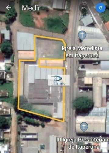 Área À Venda, 5000 M² Por R$ 5.000.000,00 - Aeroporto - Itaperuna/rj - Ar0002