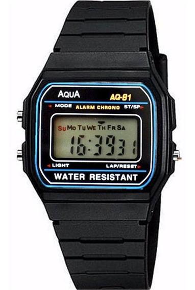 Relógio Digital Aqua F91 Sport Cronometro Crianças Oferta