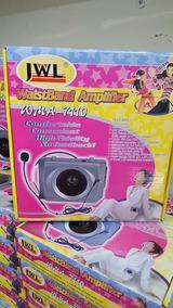Kit Professor / Amplificador Portátil Jwl Cintura Wma-7110