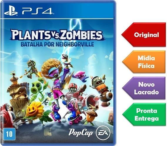 Plants Vs Zombies Ps4 Mídia Física Lacrado Pronta Entrega