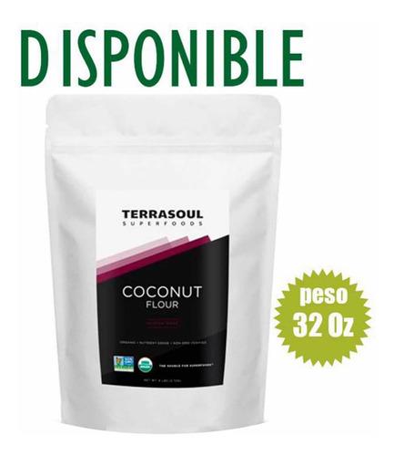Harina De Coco Orgánica Terrasoul 907g