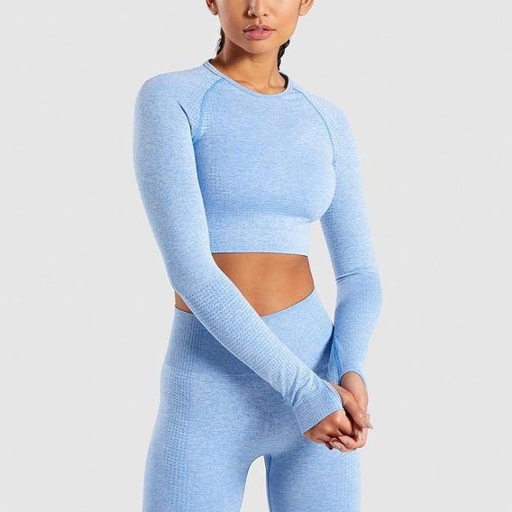 Mulheres Vital Sem Costura Conjunto De Yoga Ginásio Roupas