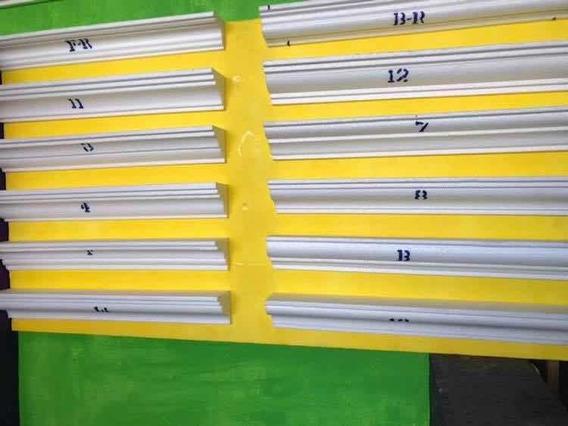 Molduras De Unicel 7cm X 1.22m Para Interiores Y Exteriores