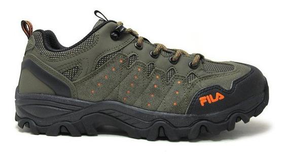 Zapatillas Tracker Verde/negro Fila 11o210x-2423
