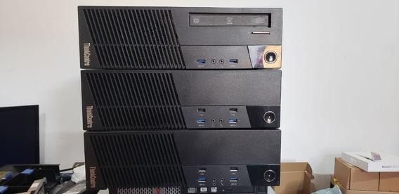 Desktop Thinkcentre M93p Lenovo I5 4590 16gb 500hd