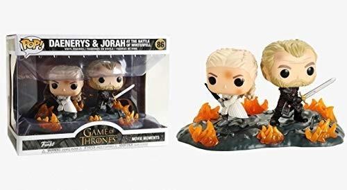 Funko Pop 86 Game Of Thrones - Daenerys & Jorah B2b W/ Swo