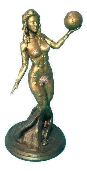 Estatua Diosa Gaia, Gaea O Gea Griega De 25cm (impresión 3d)