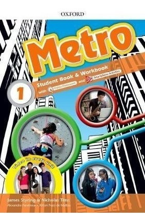 Metro 1 - Student Book And Workbook - Oxford