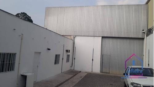 Imagem 1 de 18 de Galpão Para Alugar, 700 M² Por R$ 9.000,00/mês - Jardim Colibri - Cotia/sp - Ga0163