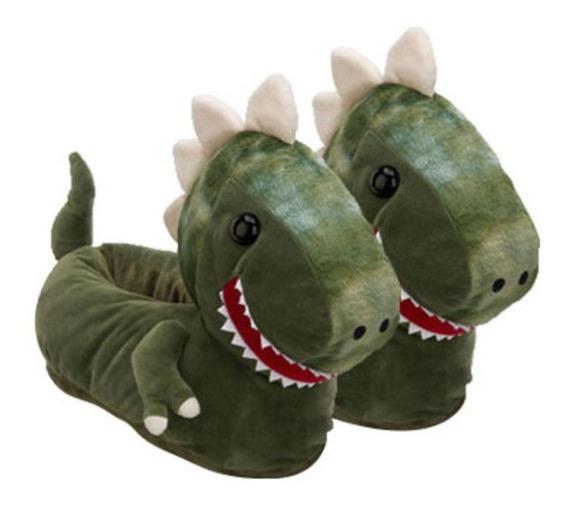 Pantufa 3d Dinossauro Vários Tamanhos Ricsen 11922