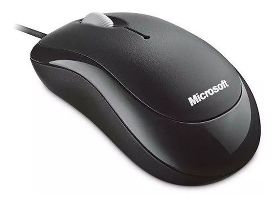 Mouse Microsoft Basic Optical Preto