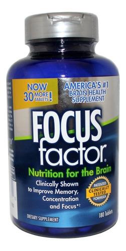 Focus Factor Vitaminas Para El Cereb - Unidad a $4