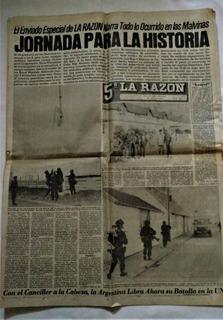 Colección De La Guerra De Malvinas. Diarios Y Revista.