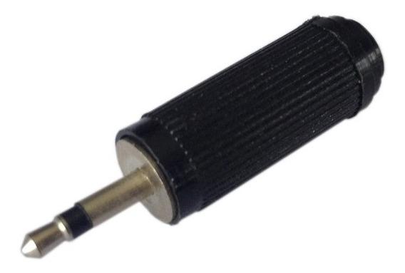 Plug P1 Mono - Preto - Frete Grátis Para Todo O Brasil