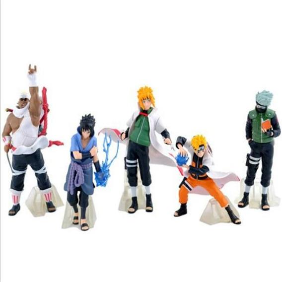 Kit Naruto Anime Figura De Ação