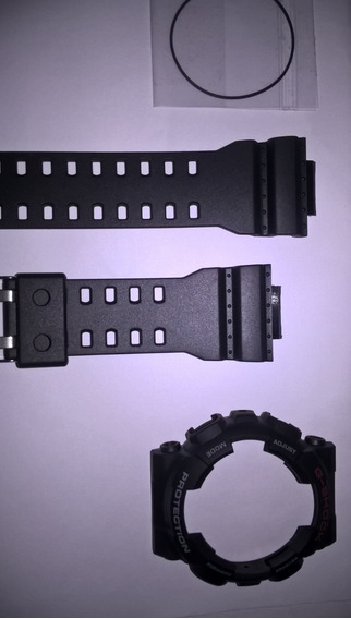 Kit Capa Pulseira Casio Ga-100 Gd-100 Ga-110 Ga-120 G-shock