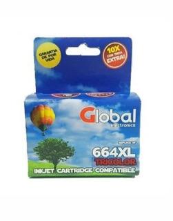 Cartucho Global Hp 664 Xl Color