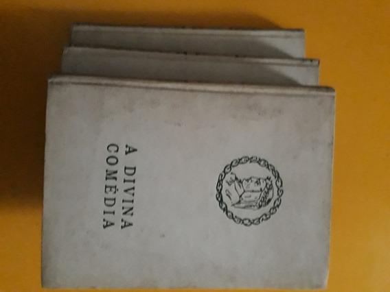 Coleçao A Divina Comedia 3 Volumes Edigraf