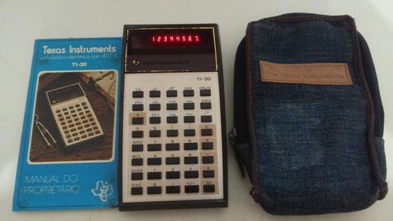 Calculadora Científica Texas Instruments Mod. Ti-30 Funciona