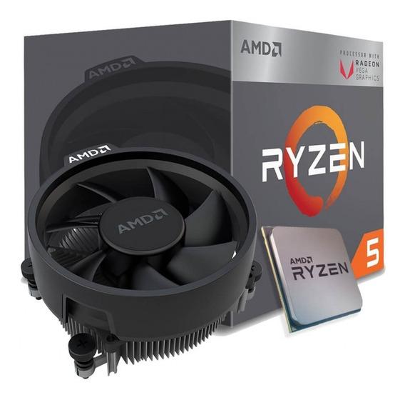 Processador Amd Am4 Ryzen R5-2400g 3,9ghz 6mb Cache C/cooler