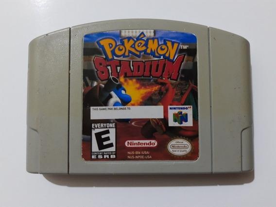 Pokemon Stadium N64 Original E Funcionando 100% Perfeito