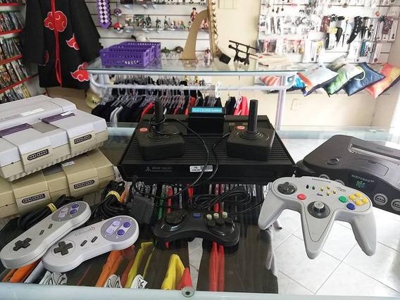 Super Nintendo Com Dois Controles, Cabo Av E Fonte