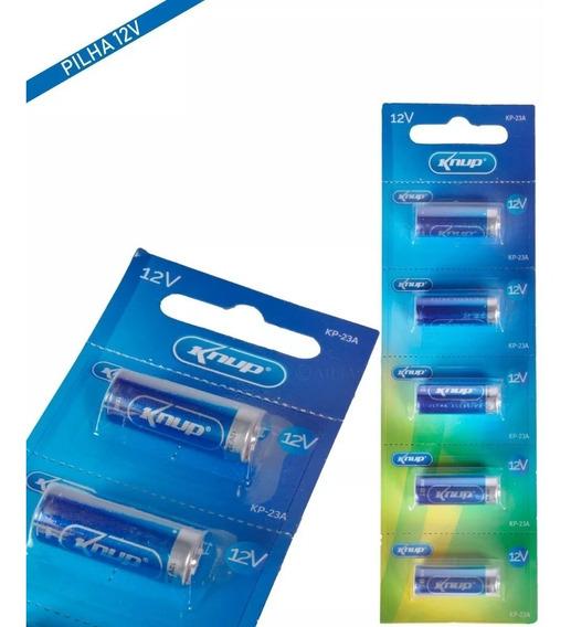Pilhas Bateria Ultra Alcalina 12v Cartela Com 5 Knup Kp-23a