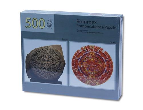 Rompecabezas De 500 Piezas Doblevista: El Calendario Azteca