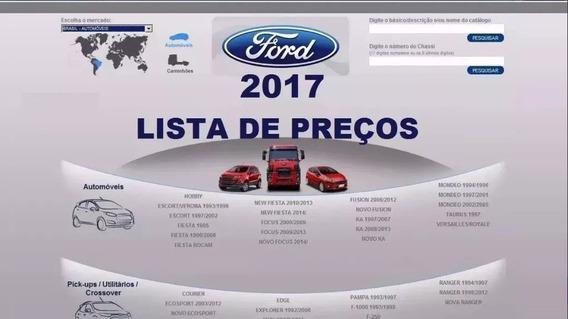 Catálogo Eletrônico De Peças Ford Carros E Caminhões 2017