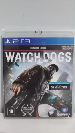 Watch Dogs Ps3 - Mídia Física