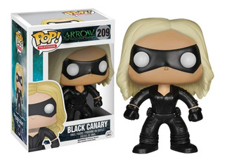 Funko Pop Arrow Black Canary Canario Negro