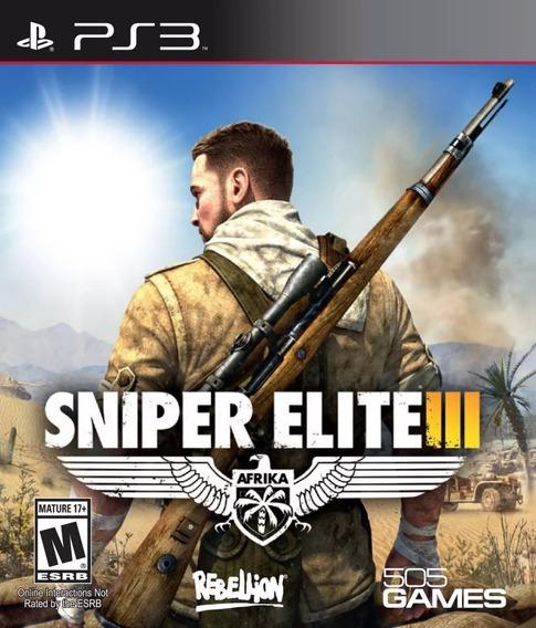 Sniper Elite 3 - Português - Psn Ps3 - Digital Original