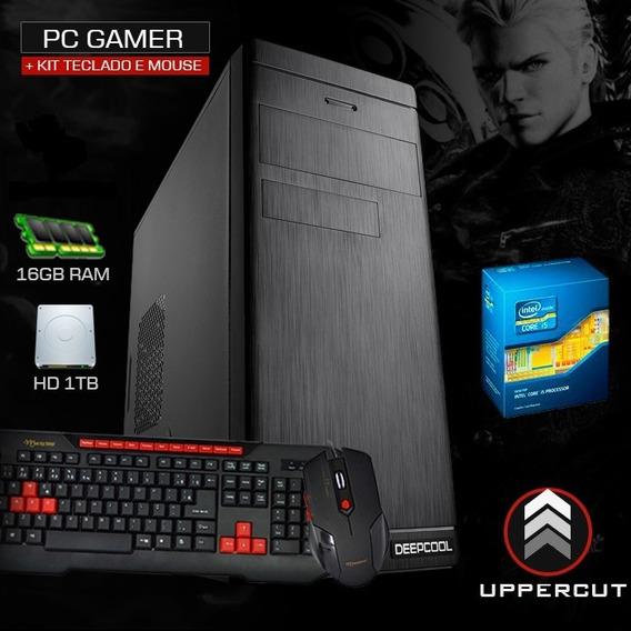 Pc Intel I5, 16gb, Geforce 2gb 710gt, Hd 1tb, Kit Gamer