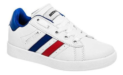 Bclass Sneaker Casual Escolar Sint Niño Blanco N66887 Udt