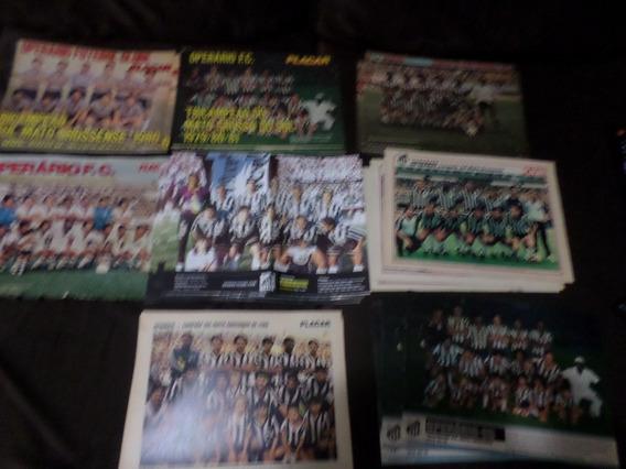 Operário Coleção 8 Posters Campeão Mato Grosso Do Sul Placar
