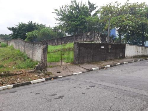 Terreno Para Alugar, 800 M² Por R$ 2.998,99/mês - Morro De Nova Cintra - Santos/sp - Te0147