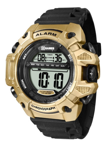 Relógio X-games Masculino Digital Xmppd399 Bxpx Dourado