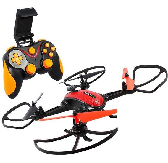 Drone Espião Quadricoptero Intruder Com Camera E Controle