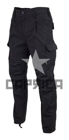 Pantalon Policia Negro Tactico