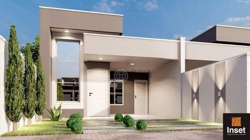 Imagem 1 de 9 de Casa Com 3 Dormitórios À Venda, 89 M² Por R$ 390.000,00 - Loteamento Jardim Ipê Iv - Foz Do Iguaçu/pr - Ca0586