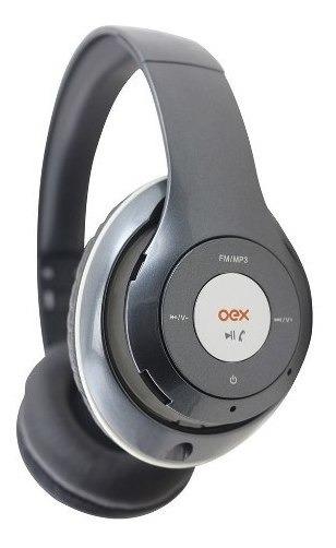 Fone De Ouvido Headset Balance Bluetooth Hs301 Cinza Oex