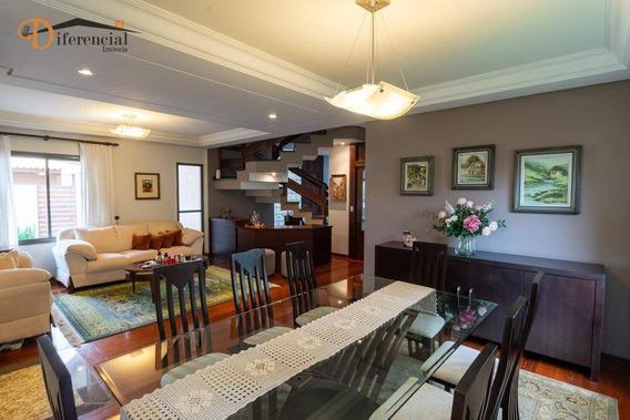 Casa À Venda, 278 M² Por R$ 1.580.000,00 - Pineville - Pinhais/pr - Ca0105