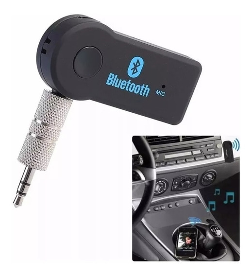 Receptor Bluetooth P2 Com Microfone Receiver Car