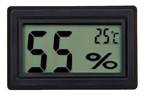 Imagem 1 de 2 de Higrômetro Termômetro Digital Temperatura Umidade Cílios