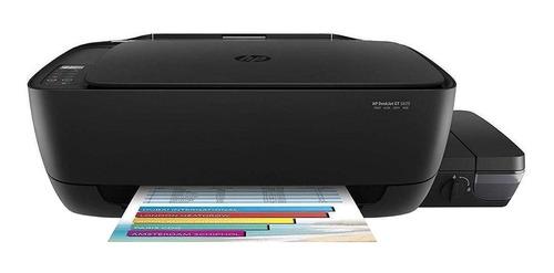 Impresora a color multifunción HP Deskjet GT 5820 con wifi negra 200V - 240V
