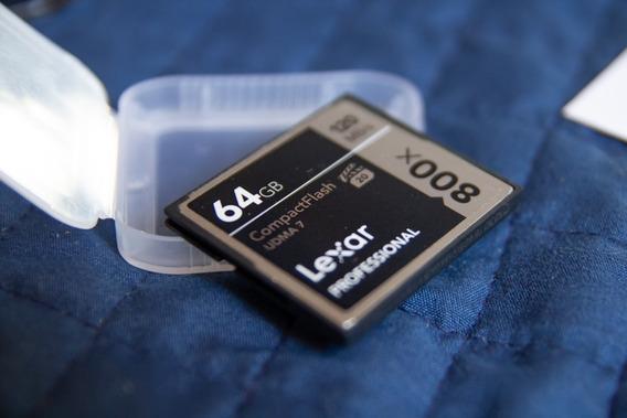 Cartão Cf Lexar Professional 64gb 800x 120mb/s